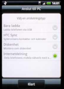 Android USB config
