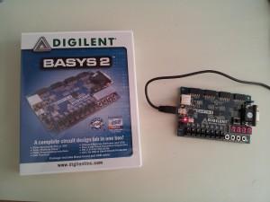 Basys 2 FPGA devkit